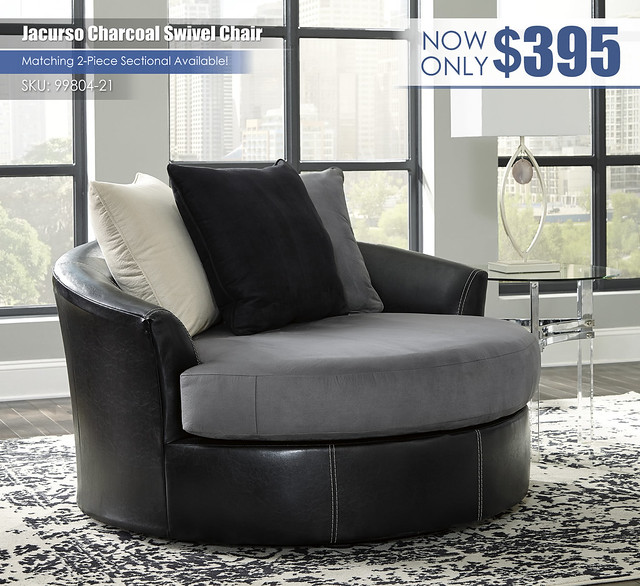 Jacurso Charcoal Swivel Chair_99804-21