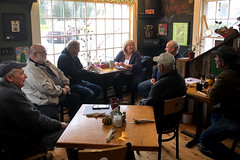 Rep. Haines hosted a coffee hour for constituents in East Haddam