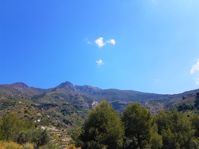 4. View on the Alpujarras mountains