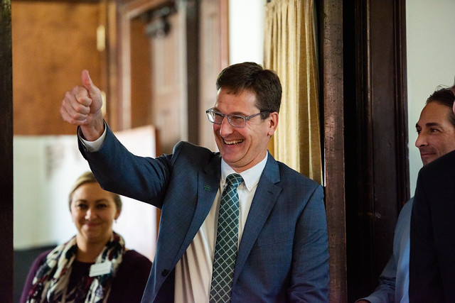 President Elect, Dr. Christopher Roellke, Welcome Reception - DeLand