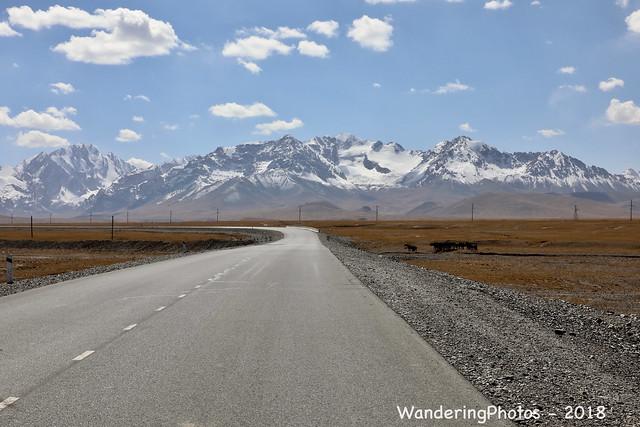 The road to Naryn -Torugart Pass - Tian Shan Mountains - Naryn Kyrgyzstan