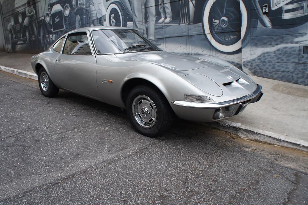 Opel GT 1970 Prata