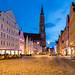 Landshut Old Town, Germany by Pepić Peđa