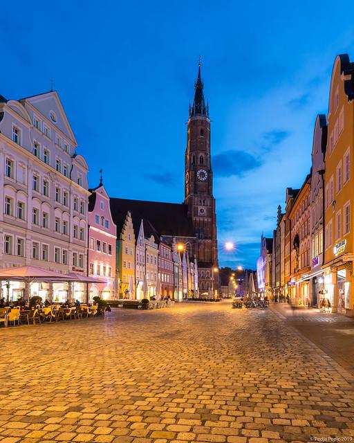 Landshut Old Town, Germany
