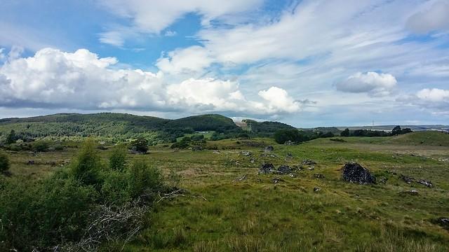 Countryside near Dunlichity, Strathnairn, Oct 2019