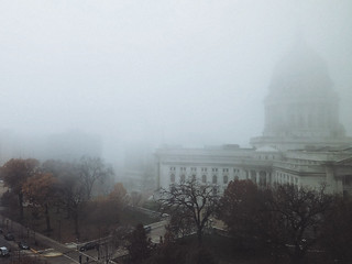 Capitol in Fog