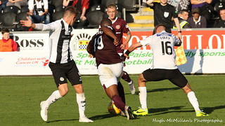 St Mirren 0 - 0 Hearts, Scottish Premiership.