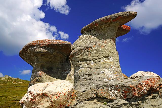 Babele rocks, Carpathians, Romania