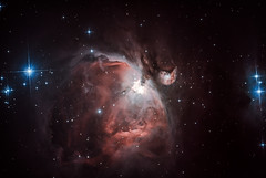 M42 Orion Nebula from Jan 2012 reprocessed