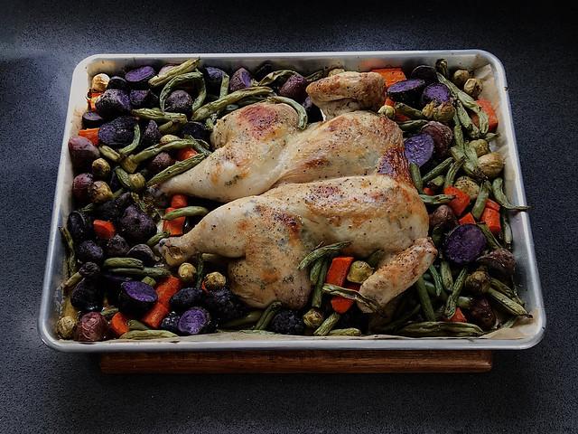 Organic Spatchcock Chicken