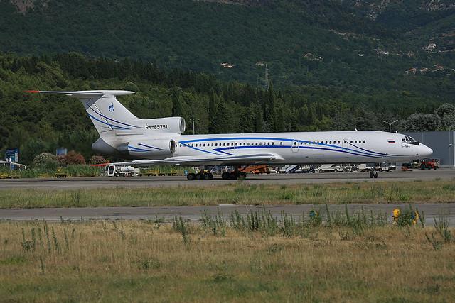 RA-85751, Tupolev Tu-145M Gazpromavia @ Tivat TIV LYTV