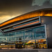 Sunset at Fiserv Forum by Sharky.pics