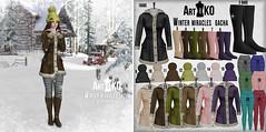 Art&KO - Winter miracles GACHA - LOOK EVENT