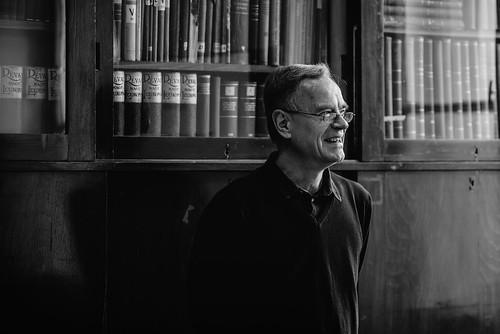 Prof. Dr. Georg Hellmayr előadása a Tankönyvmúzeumban