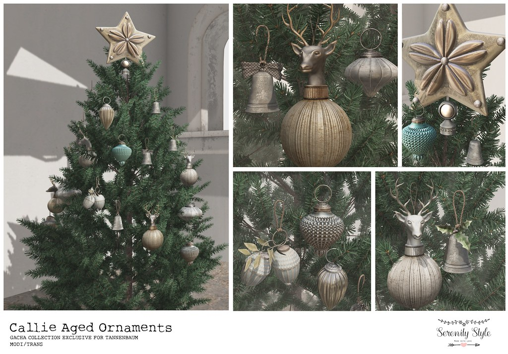 Serenity Style-Callie Aged Ornaments Advert