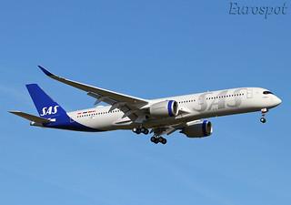 F-WZHJ Airbus A350 SAS
