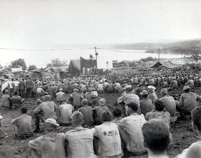 Saipan, WWII, Entertain the Troops, Band