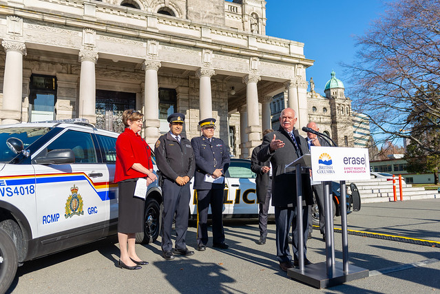 A stronger partnership between schools and police is helping keep more B.C. students safe