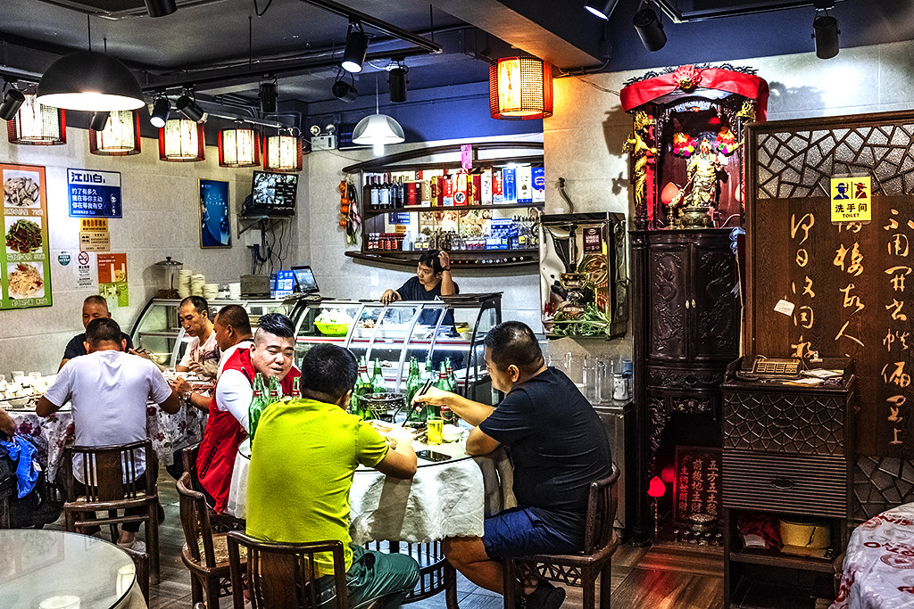 Restaurant just off Rua de Xiamen--Macau