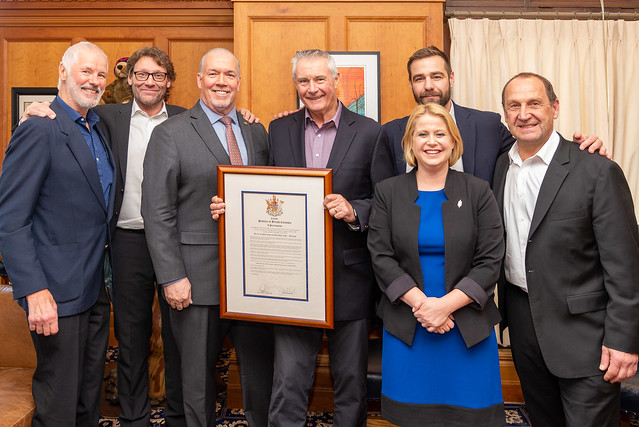 Proclamation on 50th Anniversary of the Vancouver Canucks Alumni Association