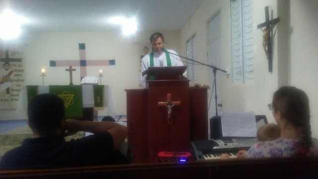 Preaching of Ted Krey.