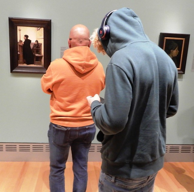millenial goes to a museum