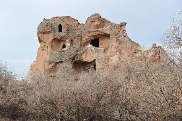 Open palace, Acik Saray (Gülşehir -Cappadocia (Kapadokya, Turkey) 181