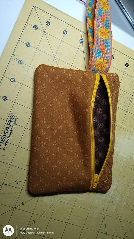 5x7 zip bag
