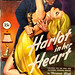 "Ecstasy Novel #3 (March 1950).  ""Harlot in her Heart"" by Norman Bligh. First edition. Digest Size. Cover Art by Rodewald"