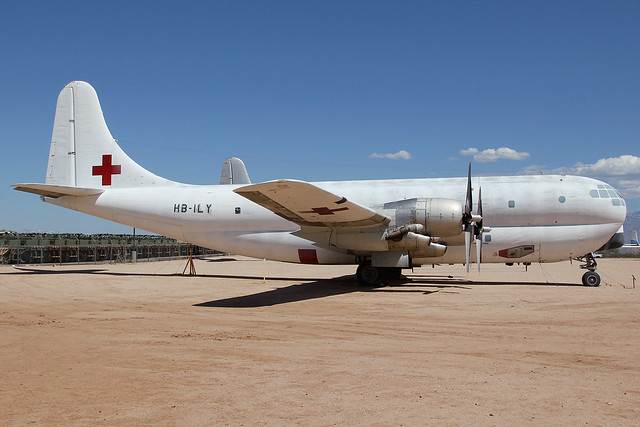 HB-ILY   Boeing C-97G Stratofreighter   International Red Cross