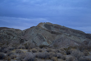 Alien World: A stormy cold front moves through Rainbow Basin Yermo CA