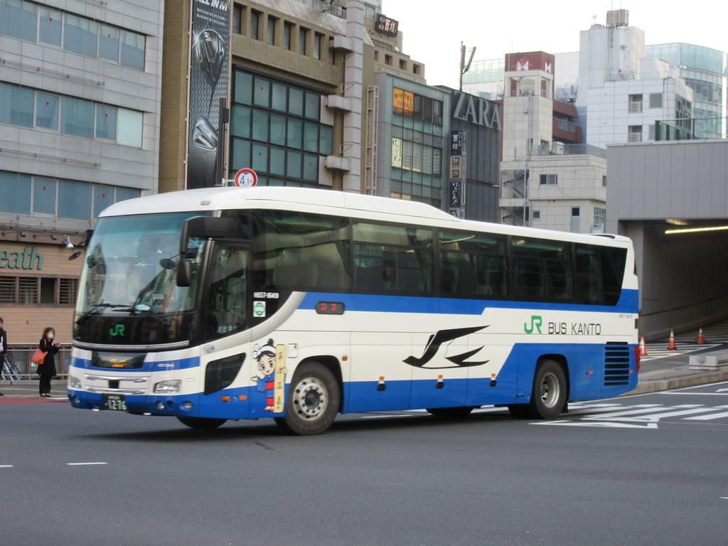バス 関東 jr