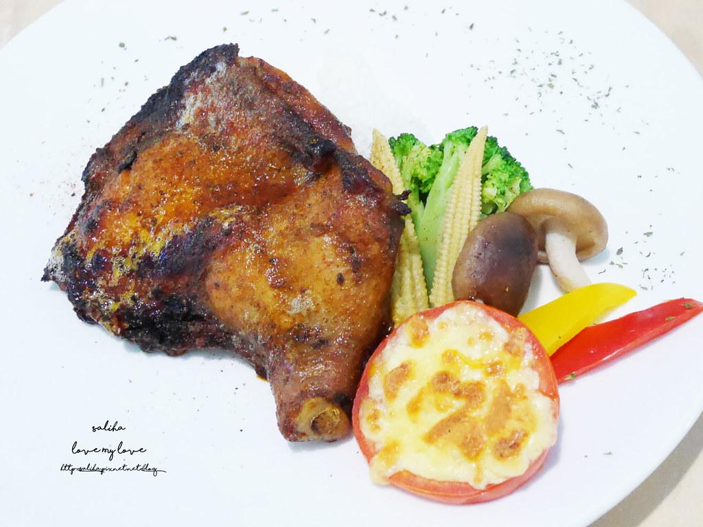 新北八里十三行博物館附近咖啡廳素食下午茶TO House兔子庭園餐廳 (1)