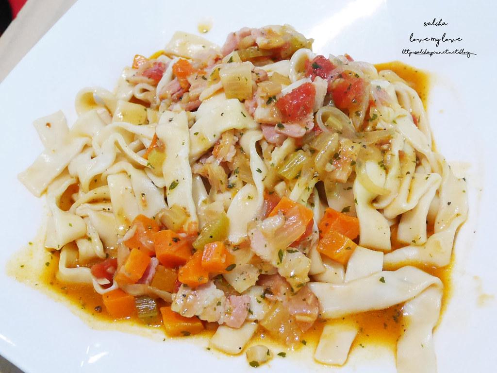 新北八里十三行博物館附近TO House兔子庭園餐廳素食料理吃素義大利麵下午茶 (5)