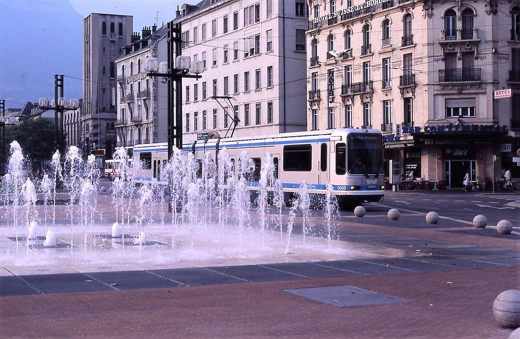 Trams de Grenoble (France)
