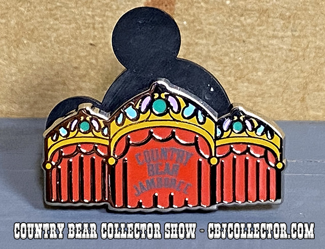 2019 Walt Disney World Tiny Kingdom Country Bear Theater Pin - CBCS #229