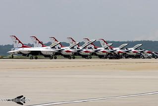 F-16 USAF Thunderbirds