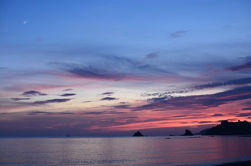 sunset atardecer puestadesol almuñécar almunecar sea mar mer agua seascape mediterráneo mediterreanean costatropical d7100 35mm primelens fisedlens objetivofijo nozoom color colores colors sky cielo heaven clouds nubes