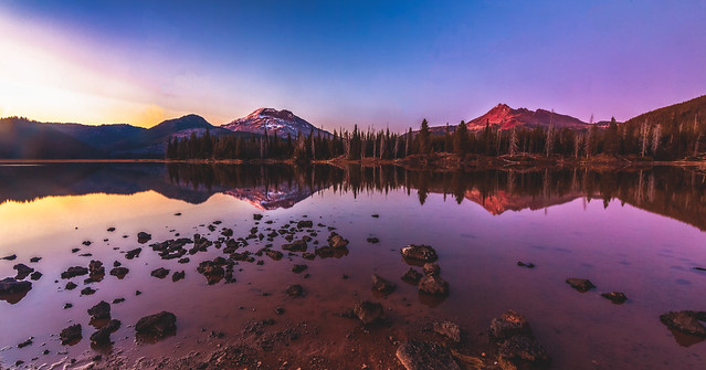 Sparks Lake After Sunset