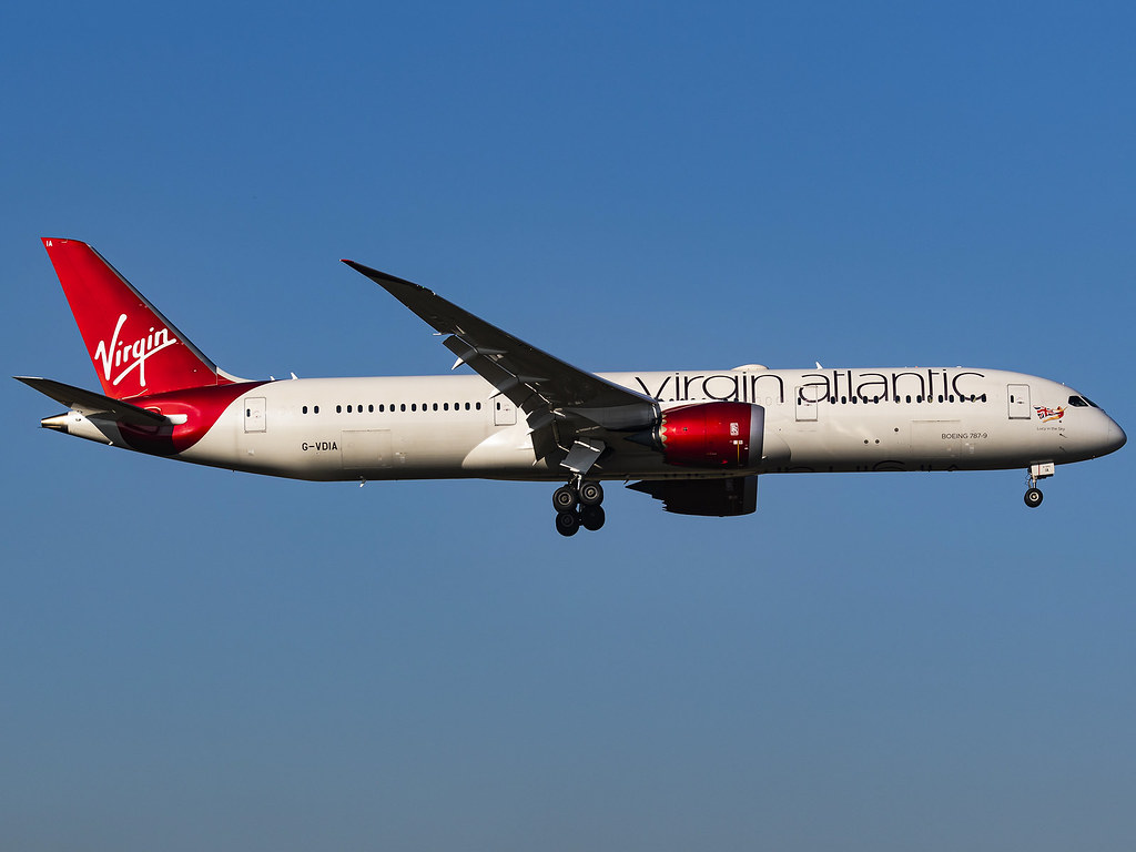 Virgin Atlantic Airways | Boeing 787-9 Dreamliner | G-VDIA