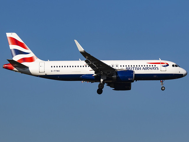 British Airways | Airbus A320-251N | G-TTNC