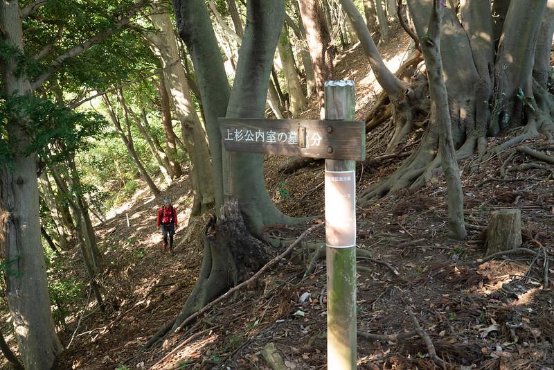 上杉公内室の墓