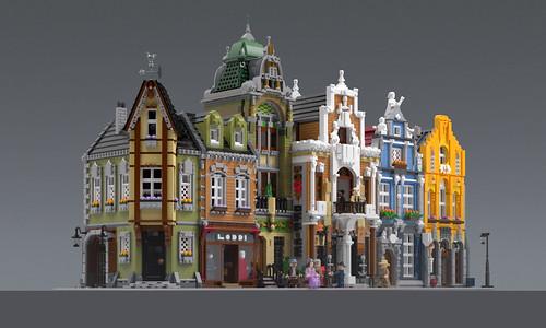 BrickAtive Modulars