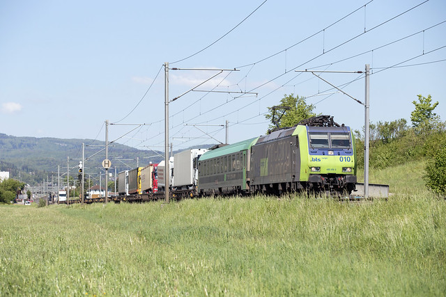 BLS Re 485 010 Sissach