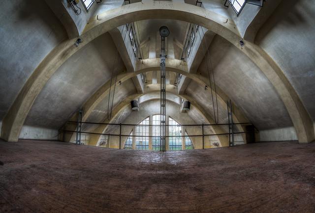 industrial ballroom