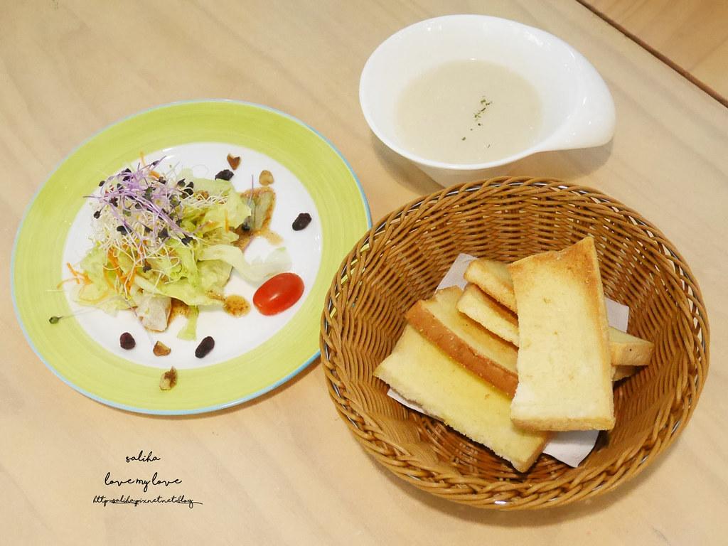 新北八里十三行博物館附近咖啡廳素食下午茶TO House兔子庭園餐廳 (2)