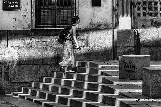 Marche à l'ombre... / Walk in the shades