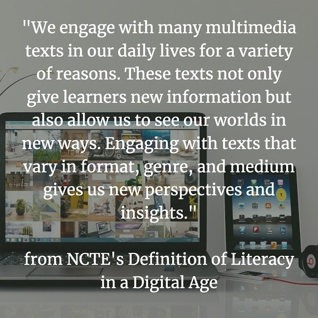 Defining Digital Literacies NCTE explore
