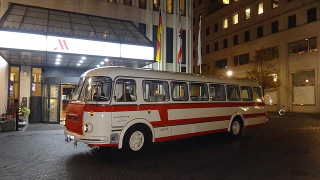 1963 Omnibus 706 RTO von Škoda/LIAZ mit Busaufbau von Karosa Inge-Beisheim-Platz in 10785 Berlin