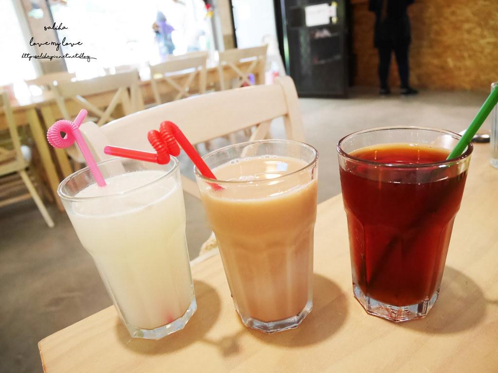 新北八里十三行博物館附近咖啡廳素食下午茶TO House兔子庭園餐廳 (4)